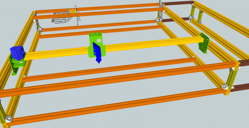 7.  Install X Axis on the rails.png