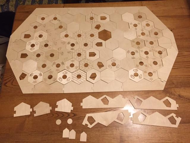 Catan Game Board Pieces.JPG