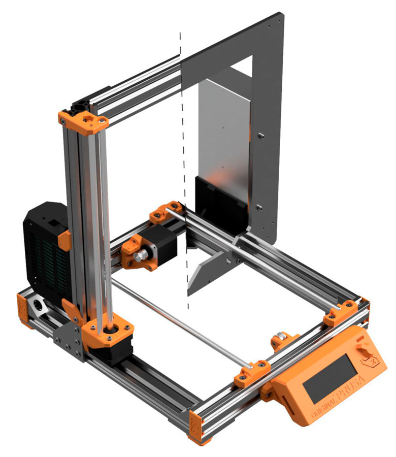 picture regarding Prusa Printable Parts named Prusa i3 Undertake Up grade V2 OpenBuilds