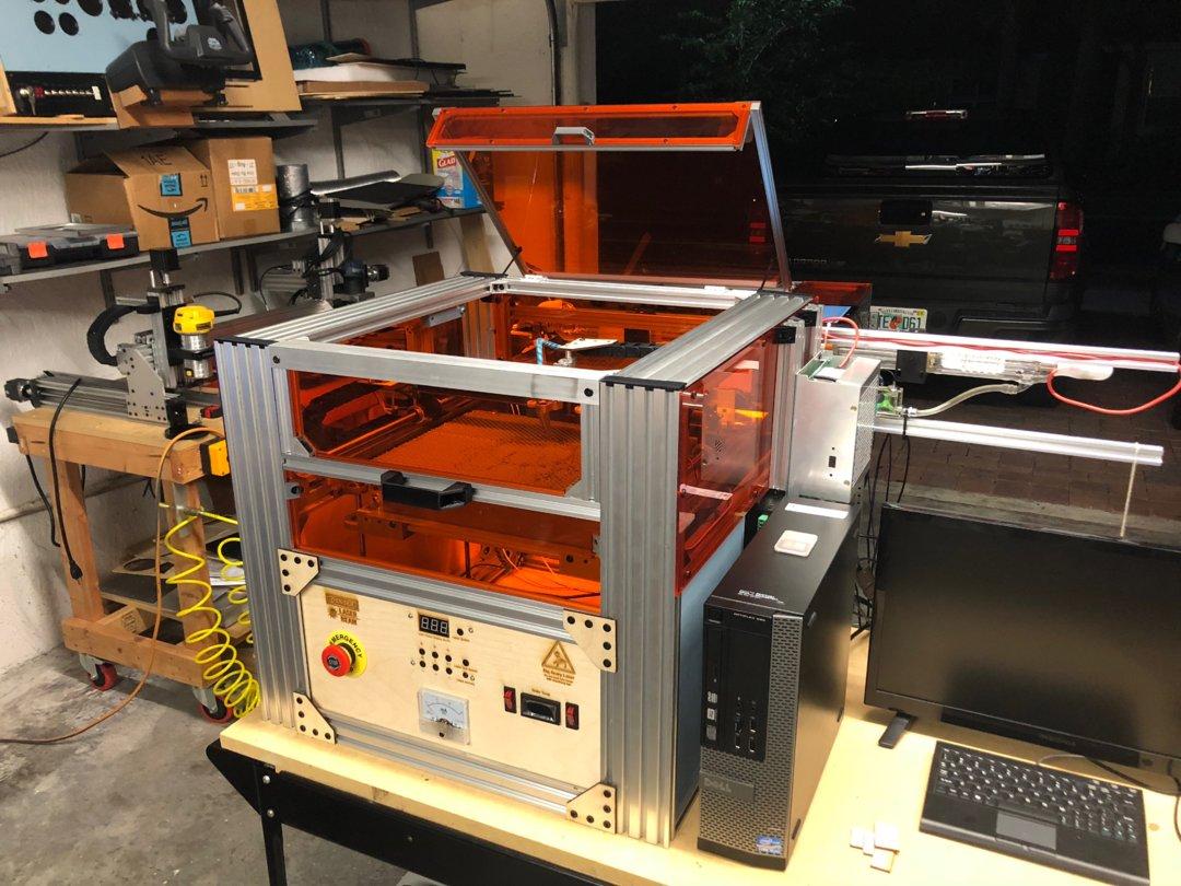 K40 Cube Laser Cutter | OpenBuilds