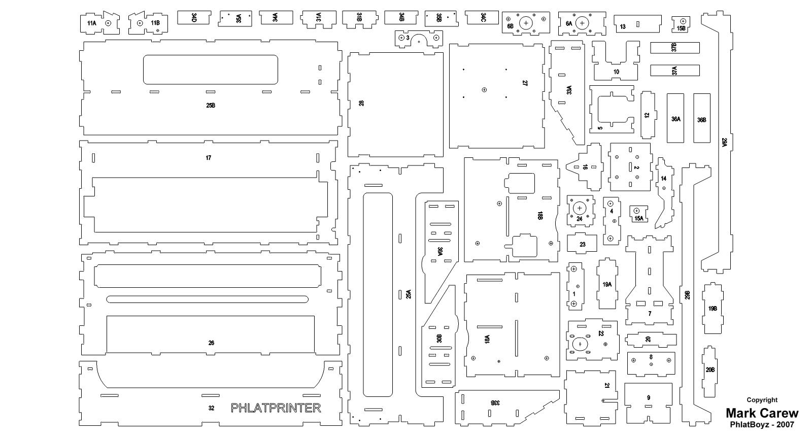PhlatPrinter Build 95_parts.jpg
