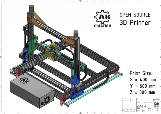 3D Printer - Big Size