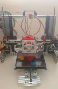 Dual Extruder 3D Printer and Laser Cutter combo