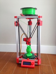 Mini Kossel V-Slot 3D Printer