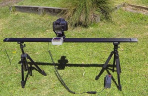 Time Lapse Camera Rail