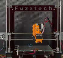 Prusa i3 (Acrylic frame with OB rods)
