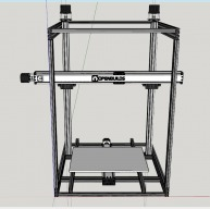 Monster - a multiple material 3D printer with 20