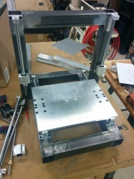 Steel Frame 3D Printer