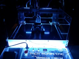 TACIT RONIN CNC - Flood Coolant Enabled C-Beam