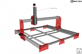 New  Custom CNC with C-Beam Rails