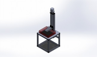 LCD Based SLA Resin Printer