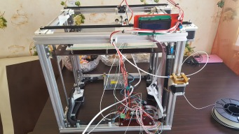 Zen3D Atlantis 3D printer, H-Bot mechanics