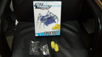 Remote Controlled Robot Spider(Teaching Tool)