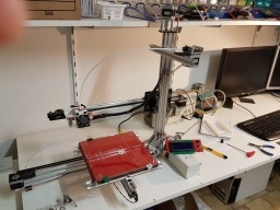 Another 3D Printer using OpenBuilds Hardware only