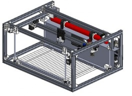 SOLAC: Space Optimized LAser Cutter