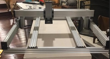 1000mm X 1000mm with tinyg
