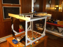 Large cartesian gantry style 3D printer