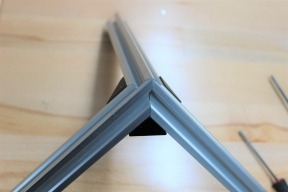 The Almost Perfect 3 Way Mitre (with Angle Corner Connectors)