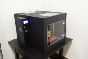 Chrysalis: An Enclosure for TAZ 6 3d Printers