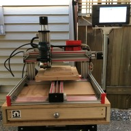 BD's C-Beam Machine CNC Router (WIP)