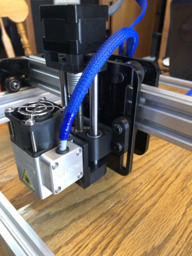 Z-Axis for Laser Diode
