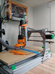 Fixed Gantry CNC Router with Old Industrial Supplies