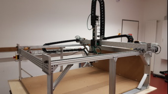 Open source large format CNC-machine and 3D printer