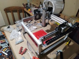 Simple CNC Router (Nema17, V-slot 2040, Arduino, GRBL)