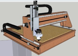 Plywood Built CNC Router