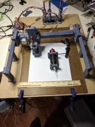 Fully 3D Printed Small CNC Router/Plotter