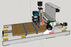 My C-Beam machine...from 500 to 1000mm base