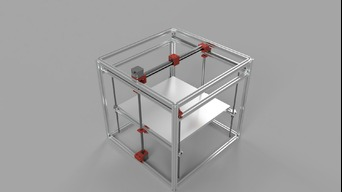 Cartesian 3d printer