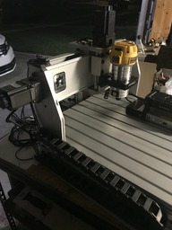 CNC China Router  Conversion to Open Builds System